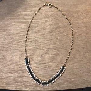 J.Crew EUC Black Necklace